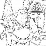 Shrek coloringpages -
