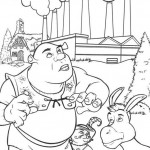 Shrek coloringpages - Shrek6