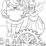 Shrek coloringpages - Shrek8
