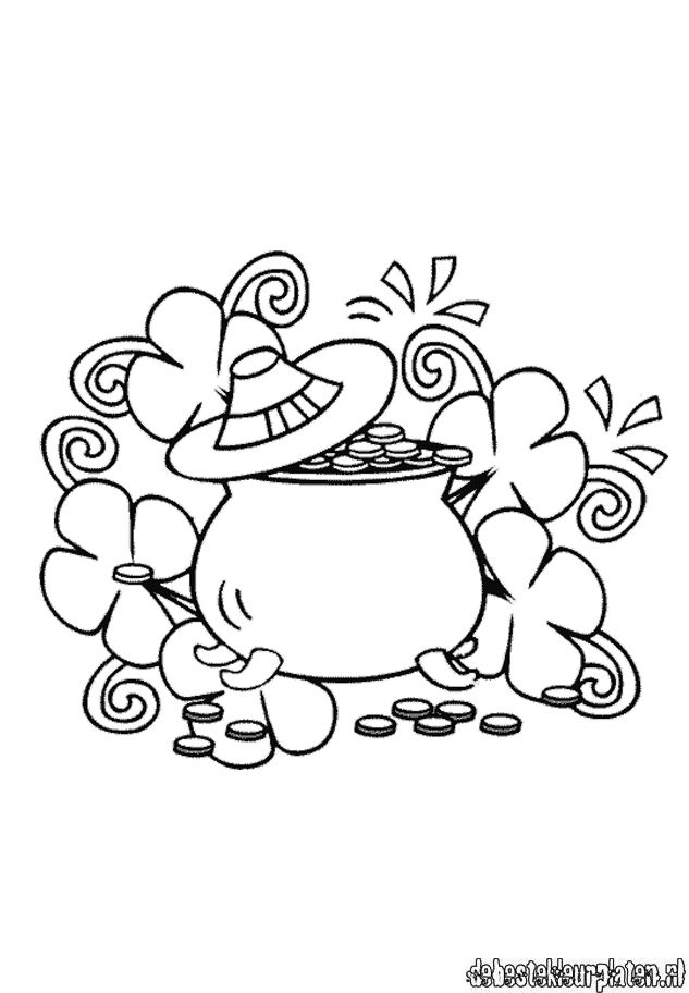 st patricks day11 printable coloring pages