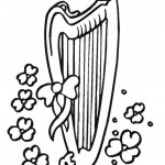 St. Patrick's Day coloringpages -