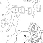 Calico Critters coloringpages -
