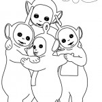 Teletubbies coloringpages - Teletubbies11