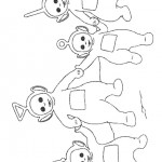 Teletubbies coloringpages - Teletubbies13