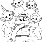 Teletubbies coloringpages - Teletubbies18