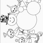 Teletubbies coloringpages - Teletubbies2