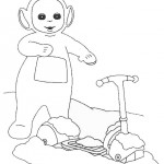 Teletubbies coloringpages - Teletubbies3