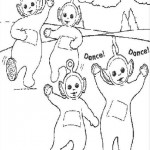 Teletubbies coloringpages - Teletubbies7