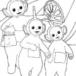 Teletubbies coloringpages - Teletubbies8