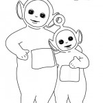Teletubbies coloringpages - Teletubbies9