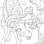 The Wild coloringpages -