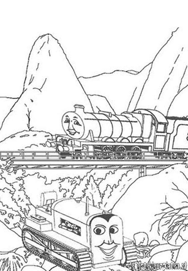 Thomasdetrein1 Printable coloring pages