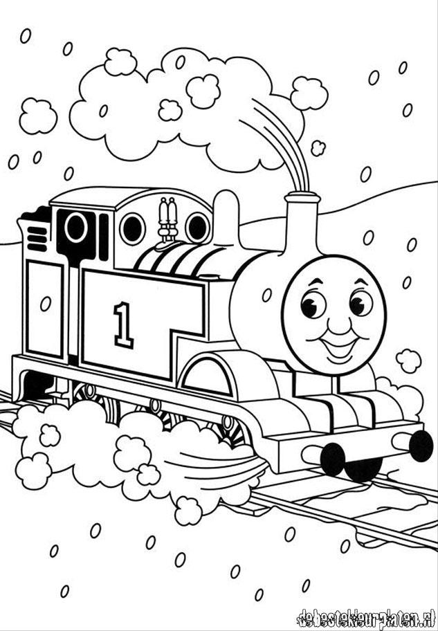 Thomasdetrein10 Printable coloring pages