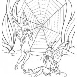 Tinker bell coloringpages -