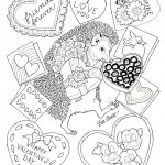 Valentines Day coloringpages -