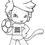 Soccer coloringpages -