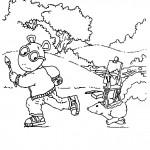Arthur coloringpages -
