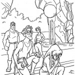 Atlantis coloringpages -