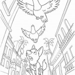 Bolt coloring pages 39