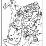 Fantastic Four coloringpages -