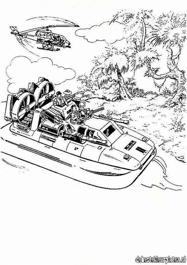 gijoe11 Printable coloring pages