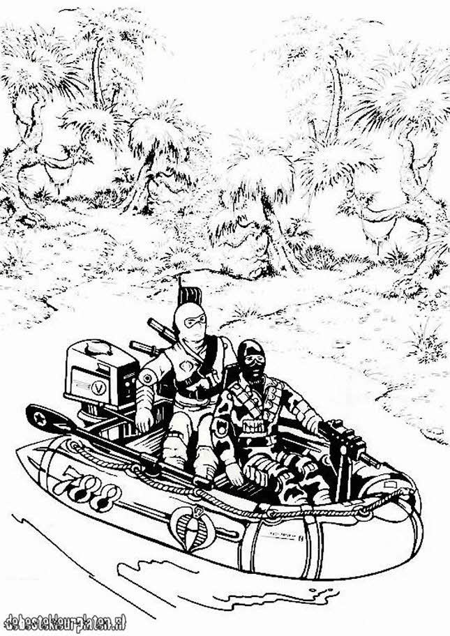 gijoe14 Printable coloring pages