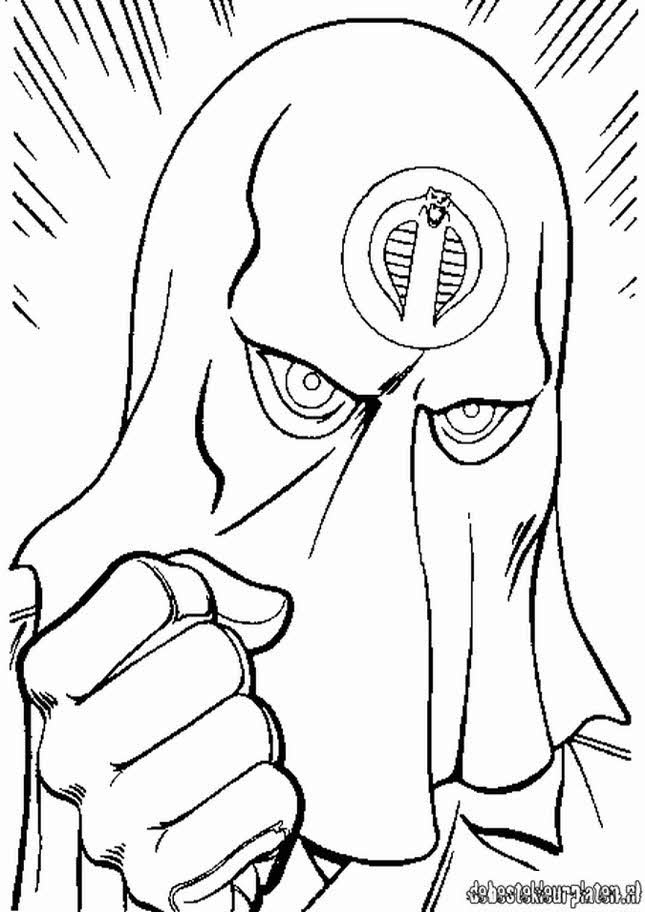 Gi Joe4 Printable Coloring Pages