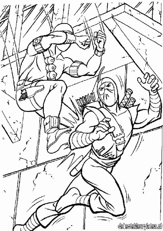 gijoe6 Printable coloring pages