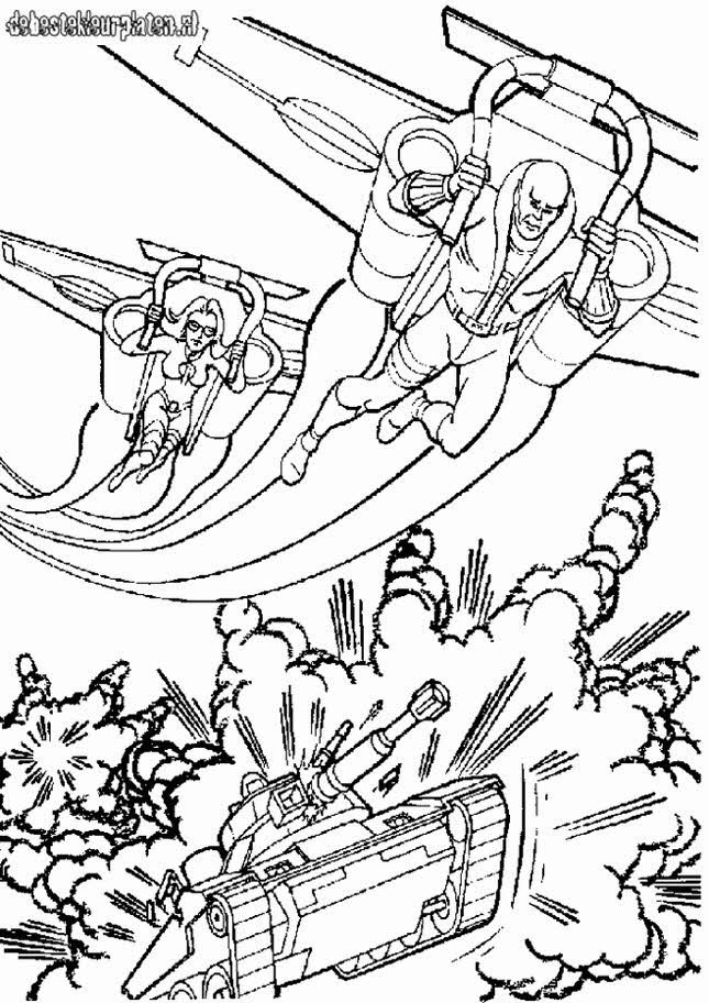 gijoe7 Printable coloring pages