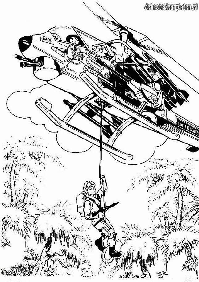 gijoe9 Printable coloring pages