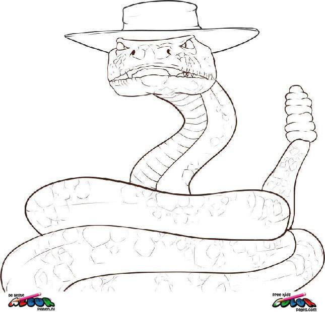 Rango003 Printable Coloring Pages