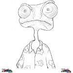 Rango coloringpages -