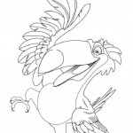 Rio coloring pages 32