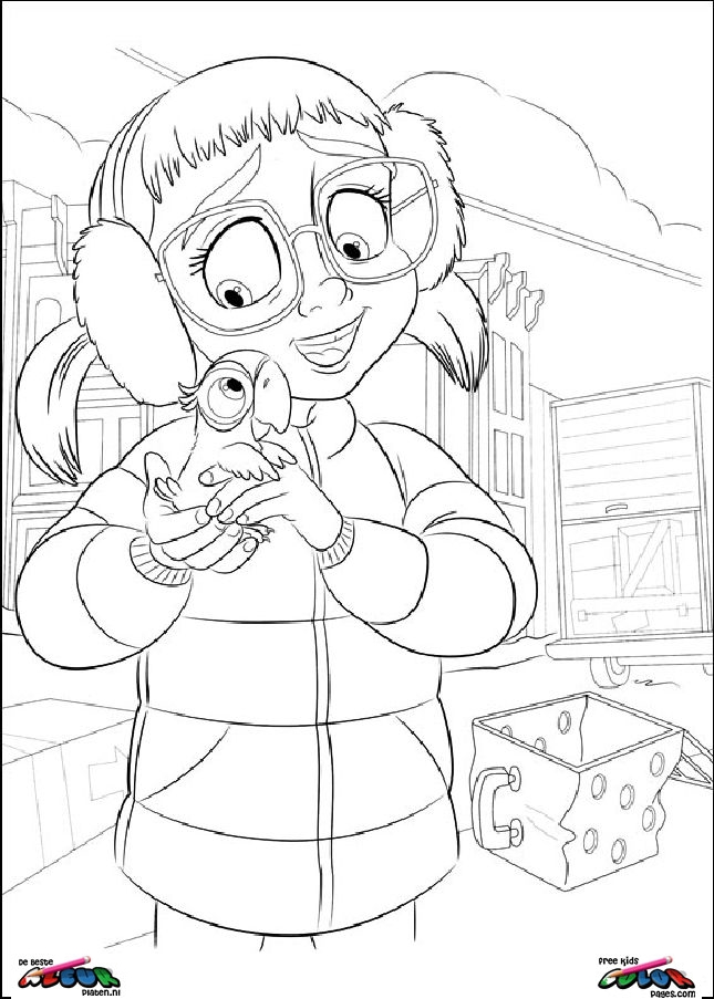 Free Coloring Pages Of Horrid Henry The Movie