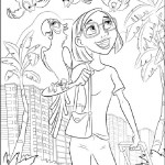Rio coloring pages 24