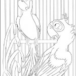 Rio coloring pages 20
