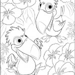 Rio coloring pages 18