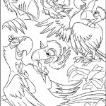 Rio coloringpages -