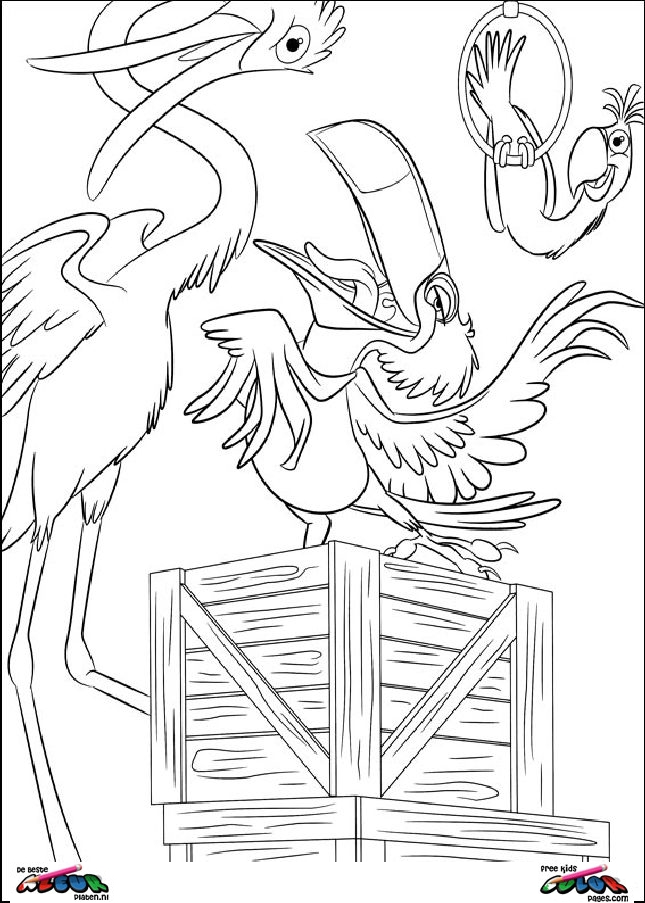 Rio023 - Printable coloring pages