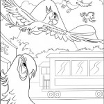 Rio coloring pages 8