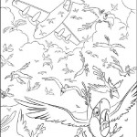 Rio coloring pages 4