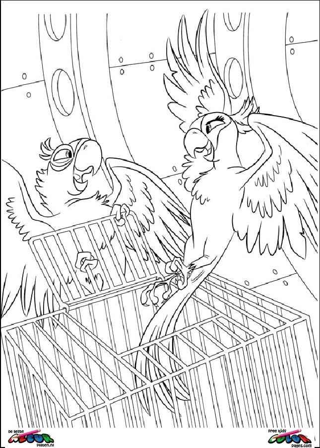 Rio033 Printable Coloring Pages