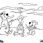 Yogi Bear coloringpages -