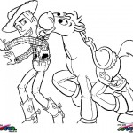 Toy Story coloringpages -