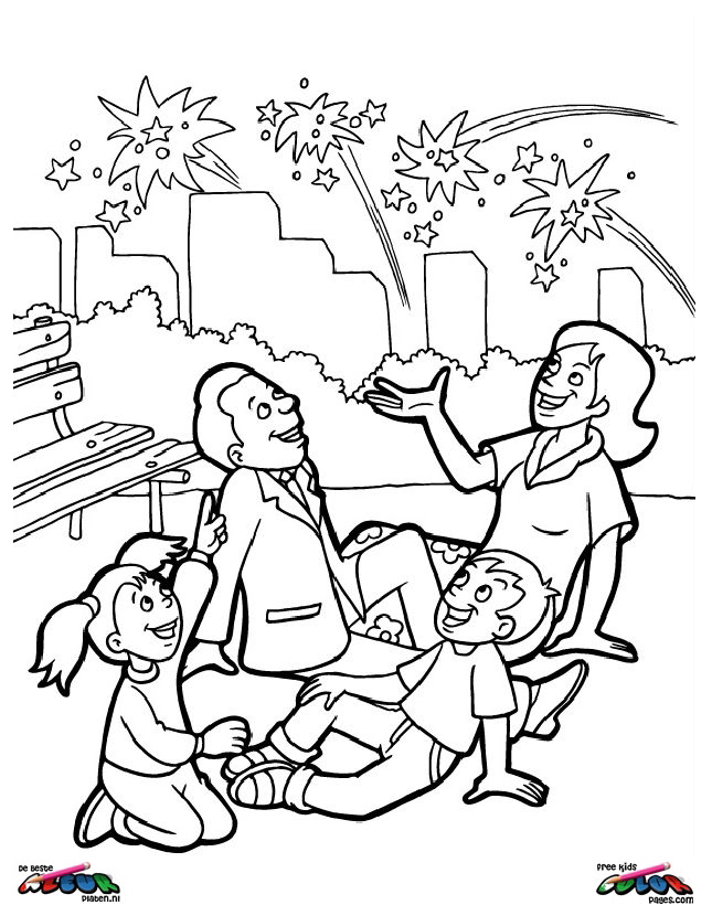 4th of july007 printable coloring pages for 4 of july coloring pages