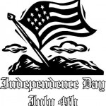 Independence Day coloringpages -