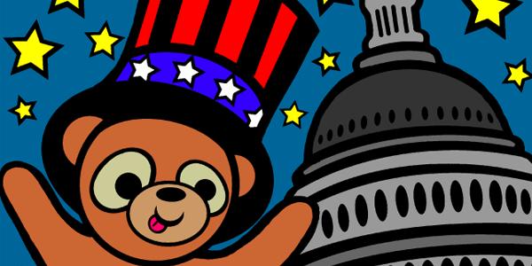Independence Day Teddybear