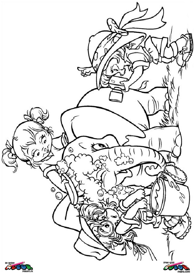 alvin chipmunks halloween coloring pages - photo#24
