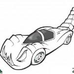 Automobiles coloringpages -