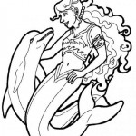 Dolphins coloringpages -